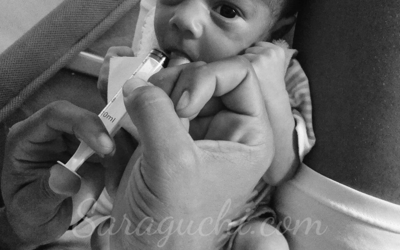 Lactancia materna gemelar con suplemento