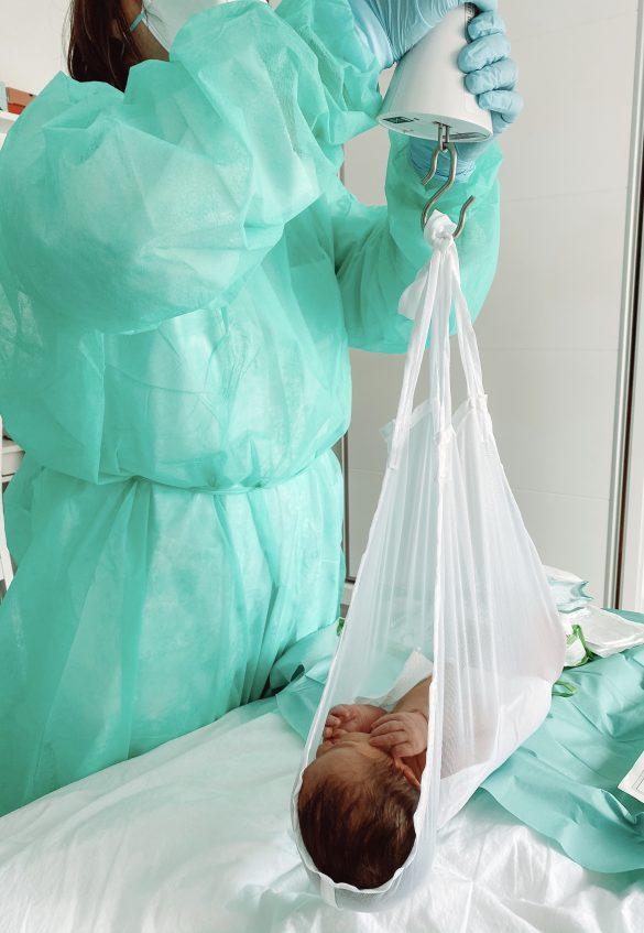 Visita-Control del bebé a domicilio