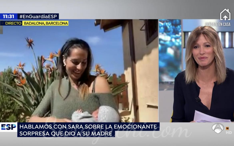 Entrevista con Susana Griso del programa Espejo Público de Antena 3