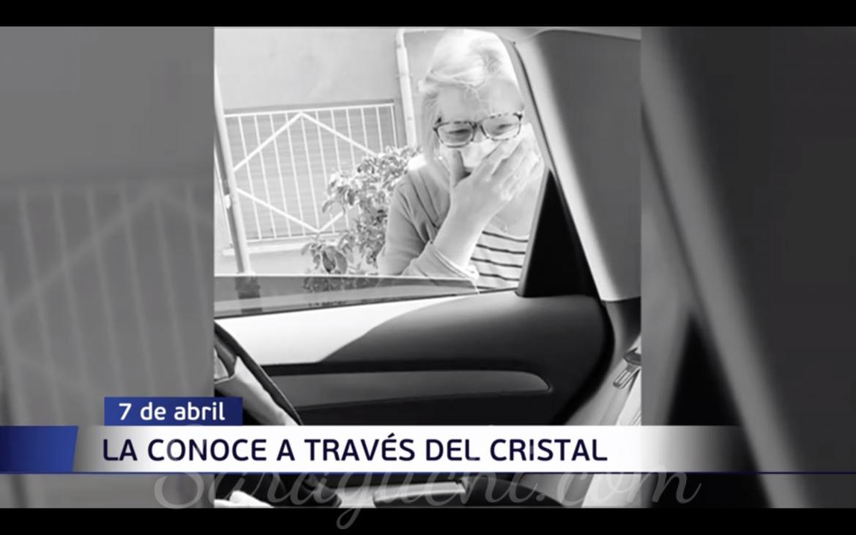 Aparición en la apertura de Informativos Telecinco