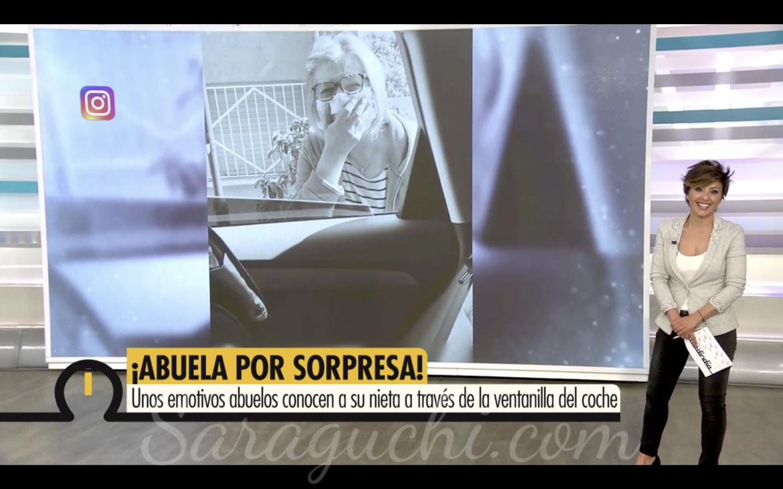 Aparición en el programa Ya es mediodía de Telecinco