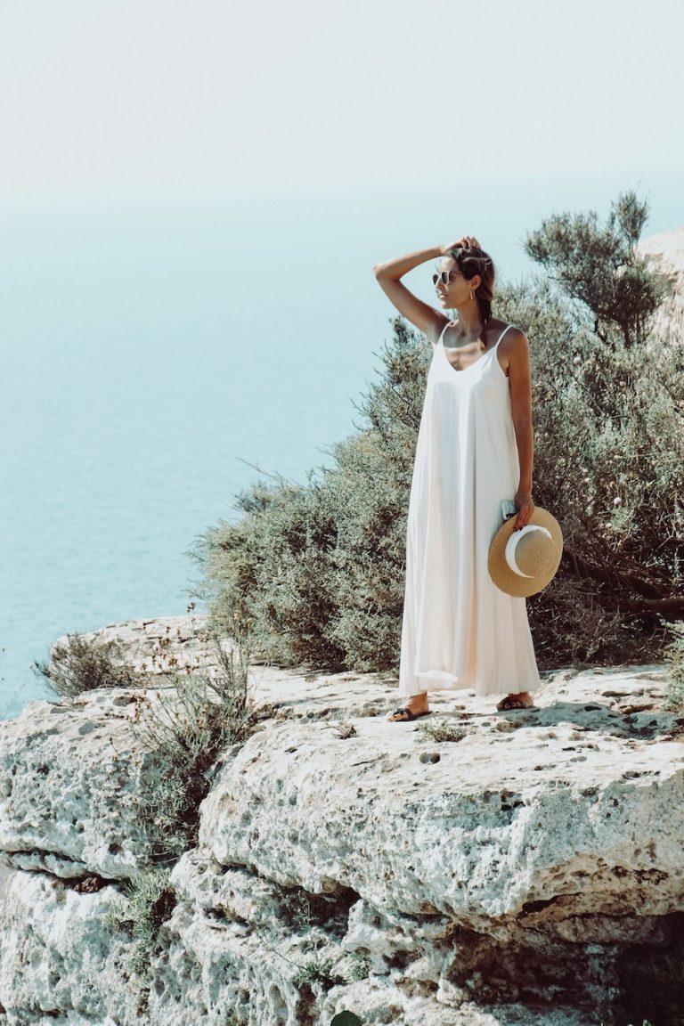 Acantilado cerca del Far de La Mola de Formentera