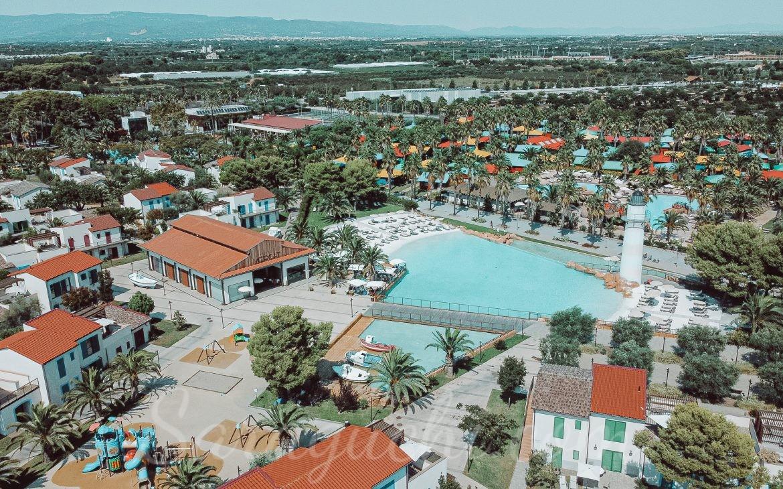 Vista aérea del Cambrils Family Park Resort