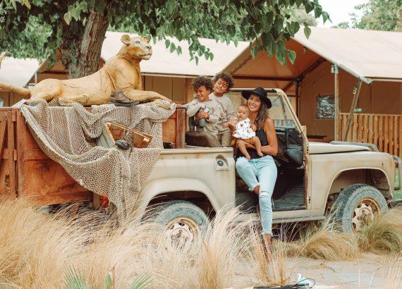 Jeep de la zona de África del Camping & Resort Sangulí Salou