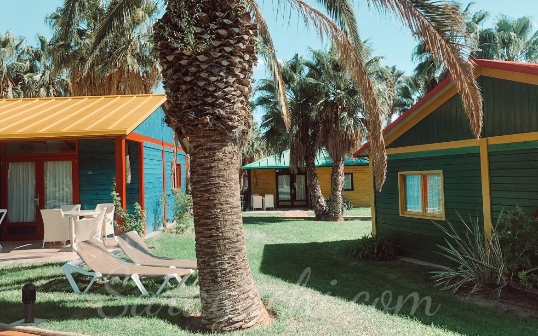Villas Paradise de la zona del Caribe del Camping & Resort Sangulí Salou