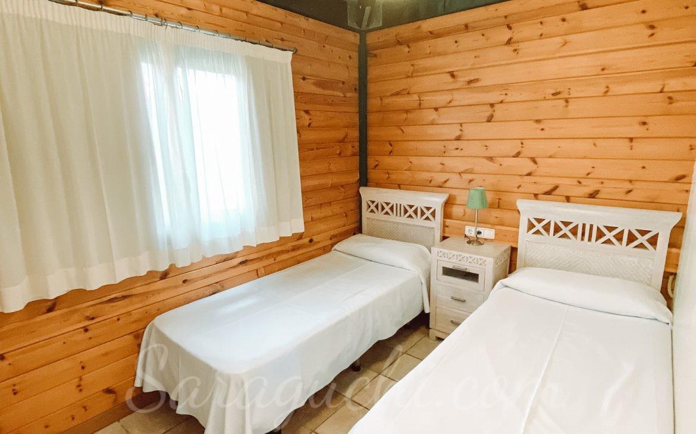 Habitación doble de la Villa Paradise del Caribe del Camping & Resort Sangulí Salou