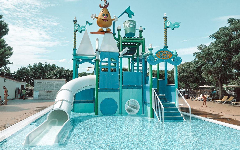 Piscina Guli Pool del Camping & Resort Sangulí Salou