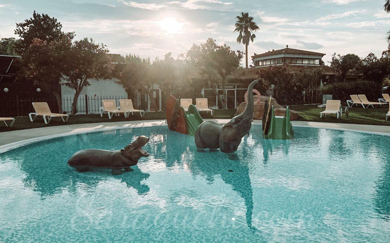 Vista aérea de la Relax Pool del Camping & Resort Sangulí Salou