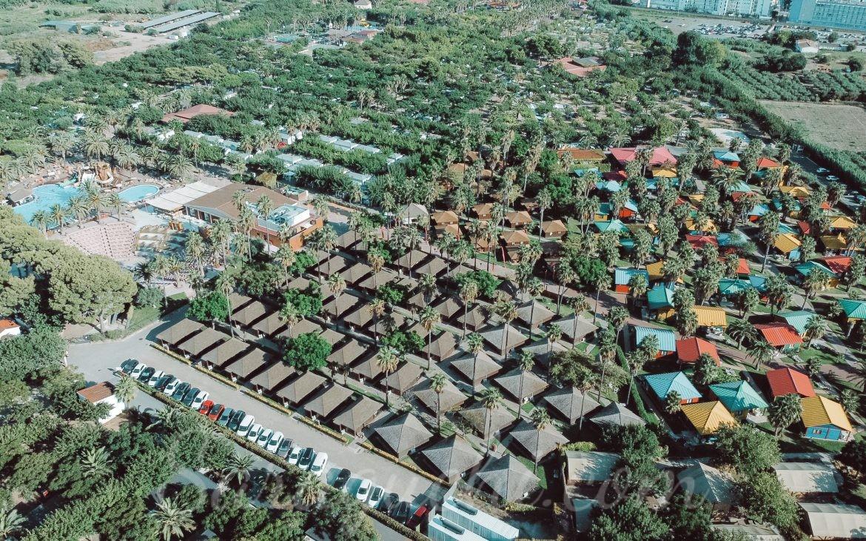 Vista aérea del Camping & Resort Sangulí Salou